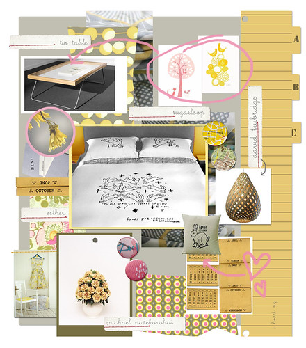 amy butler mood board for decor8 | by alphabet jo