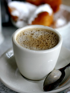 Cafe du Monde cafe au lait | by Married with Dinner