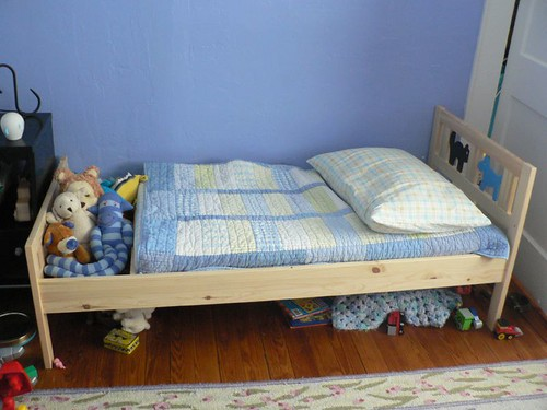Toddler Bed That Side Rails Can Be Taken Off