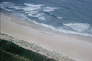 View from Cape Hatteras lighthouse, 1961 | by lreed76