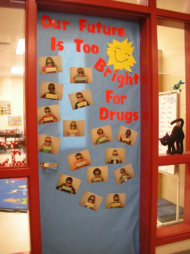 Door Decorations For Red Ribbon Week Our Future Is Too