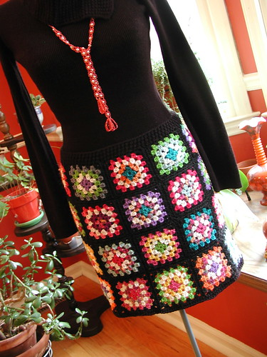 Finished Granny Square Skirt | by Buckster's Pics