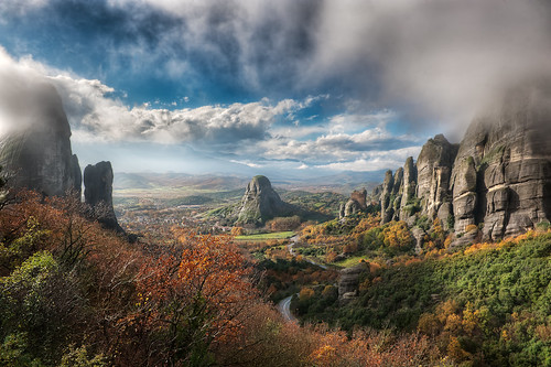 The Valley Of Fog - (HDR Meteora, Greece) | by blame_the_monkey