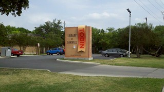 Tobin Library Sign | by nengard