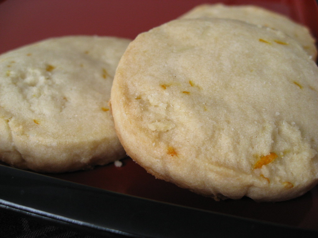 Orange Icebox Cookies These Were Crumbly Sandy Cookies A Flickr