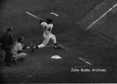 Willie Mays Swinging for the Fences | by jbpics