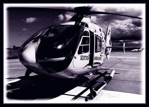 Helimed 2 at Dalcross in mono | by prajpix
