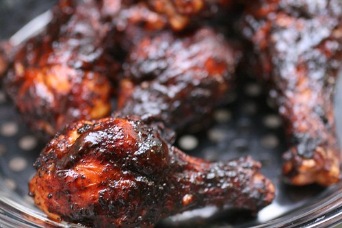 Best BBQ Chicken with Simple Barbecue Sauce | by thebittenword.com
