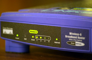 Linksys WRT54-G | by webhamster