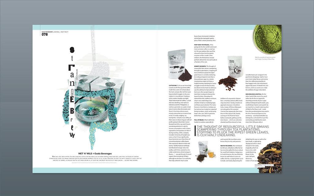 Modern Design Magazine ::: Strange Brew | Magazine design in… | Flickr