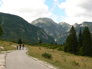 Setting off for Triglav | by Rebecca Blyth