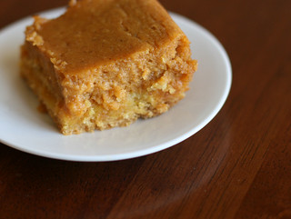 Pumpkin Gooey Butter Cake Calories