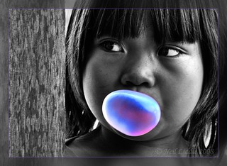 Bubble Gum Girl | by NeilsPhotography