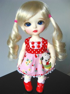 46th Handmade Dress: Berry Cherry | by ♥ Elly Jelly ♥