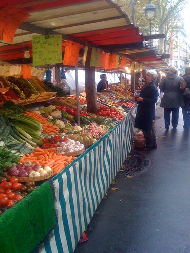 Place Monge market stall | by randomduck