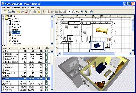 Disegna e arreda gli interni della tua casa in anteprima 3 for Arredare casa in 3d gratis