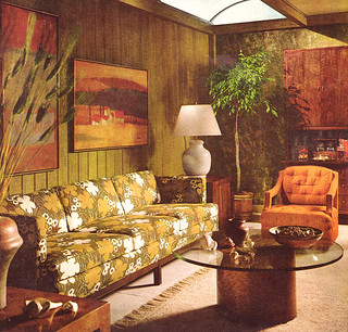 Vintage living room 1968 found in better homes and Better homes and gardens living room ideas