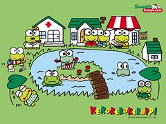 Keroppi Wallpaper | by Hello Kitty Collection