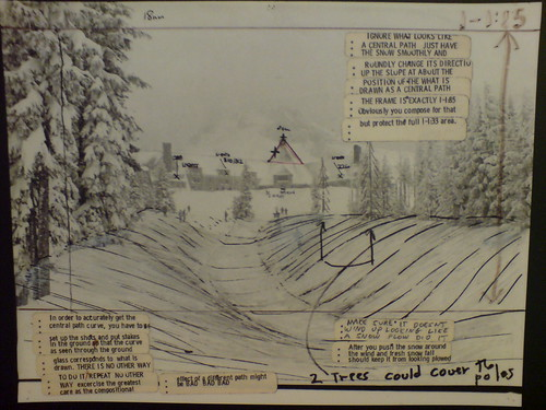 DSC00005 Storyboard from The Shining, Kubrick Archive | by globalNix