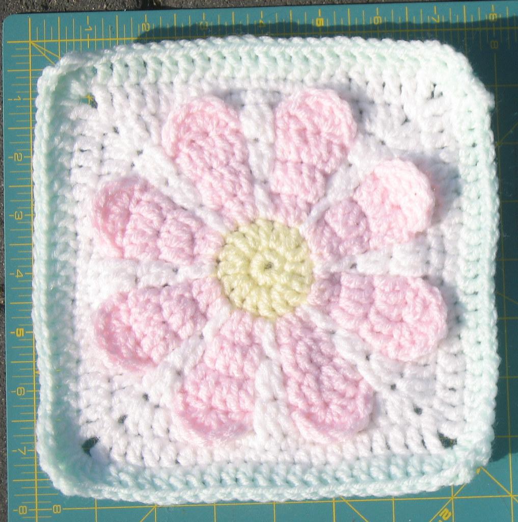Charity Daisy Crochet Pattern | Free pattern by Krochet Krys… | Flickr
