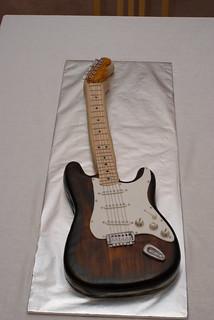 Guitar Cake Pan Directions