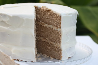 Chai Cake with Honey-Ginger Cream (Sky High Cakes) | by Food Librarian