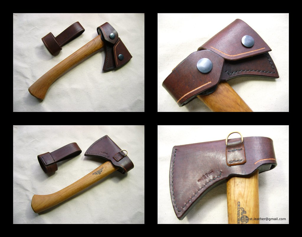 gransfors bruks mini axe sheath with belt loop st flickr