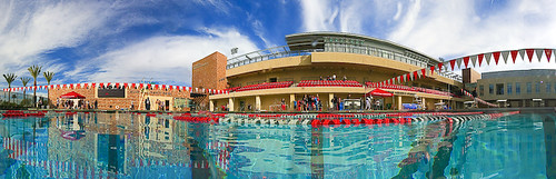 Chapman University - Swimming Pool | with an imaginary under ...
