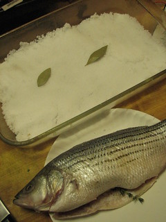 Whole Snapper Baked in Salt Crust | by SeppySills