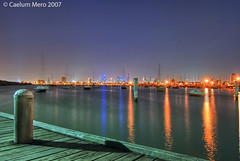 HDR: Melbourne city from St Kilda | by Cal Mero