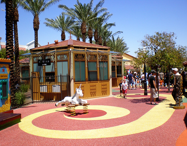 Playground at Las vegas Children's Park. Image: Miss Shari, CC. Las Vegas with kids.