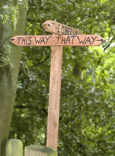 Signpost on the Wrekin | by Bits n Bobs