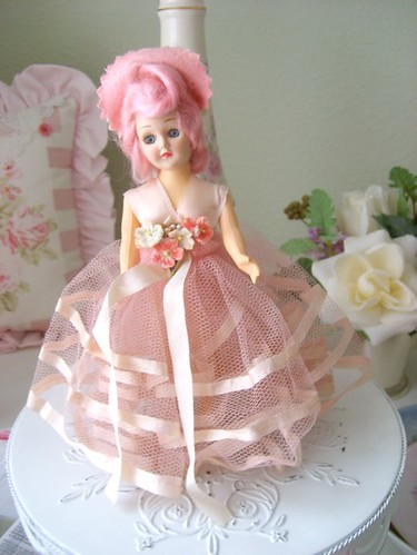 Vintage Pink Doll | by sweetnshabbyroses