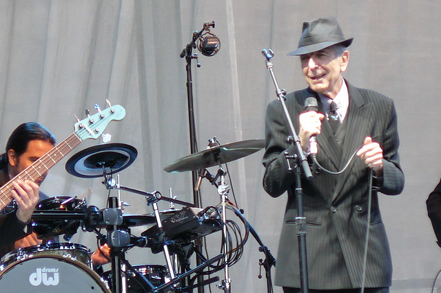 Leonard Cohen, Edinburgh Castle
