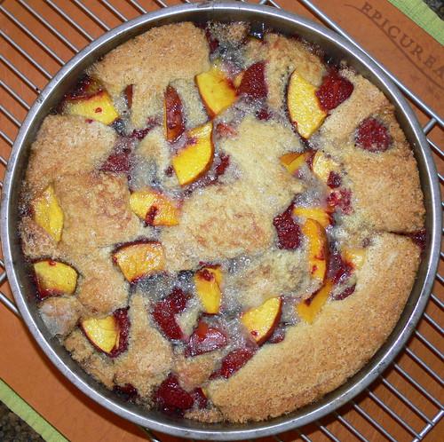 Raspberry Cobbler With Cake Mix