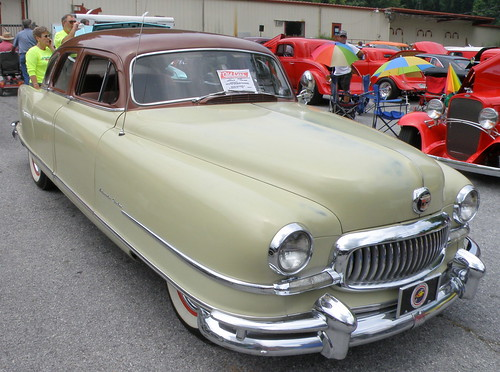1951 Nash Ambassador- The make-out automobile of choice for teenagers | by Robert Lz