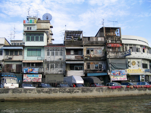 Bangkok Housing Multitude Flickr