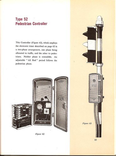 """Type 52"" Electro-matic controller for pedestrian junctions, c1955 