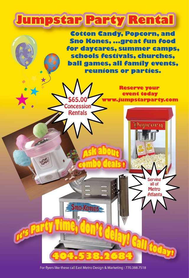 party rental flyer laquacer smith tinch flickr