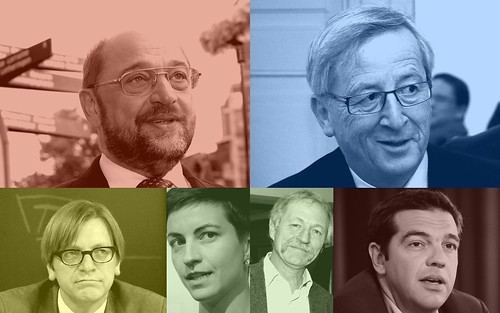 Candidates for President of the European Commission in 2014 - Party Colours | by jonworth-eu