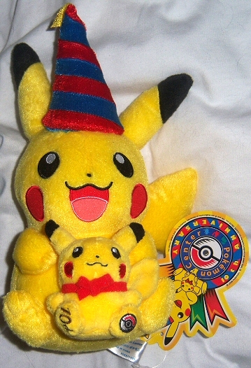 10th Anniversary Pikachu Pokedoll