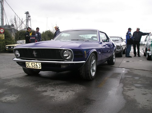 1970 Ford Mustang Hardtop in purple | by joh3