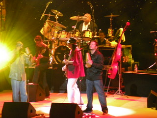 Carlos Santana and band members | by tbirdshockeyfan