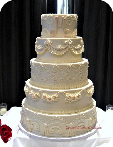 Vintage Wedding Cake Table Ideas