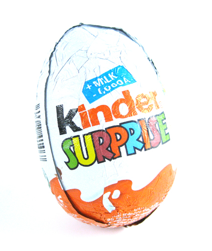 Kinder Surprise Egg | by princess_of_llyr