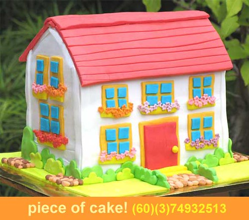 Dollhouse Cake 8kgs Above Piece Of Cake Flickr