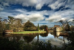 Scotney Castle, moat and boathouse | by Erasmus T