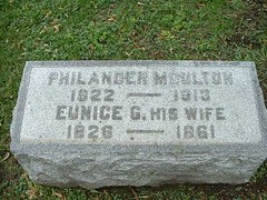 Philander and Eunice G Moulton | by Barrington Area Library Local History