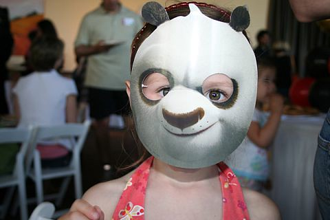 kid in mask | by Laptop Television Mom