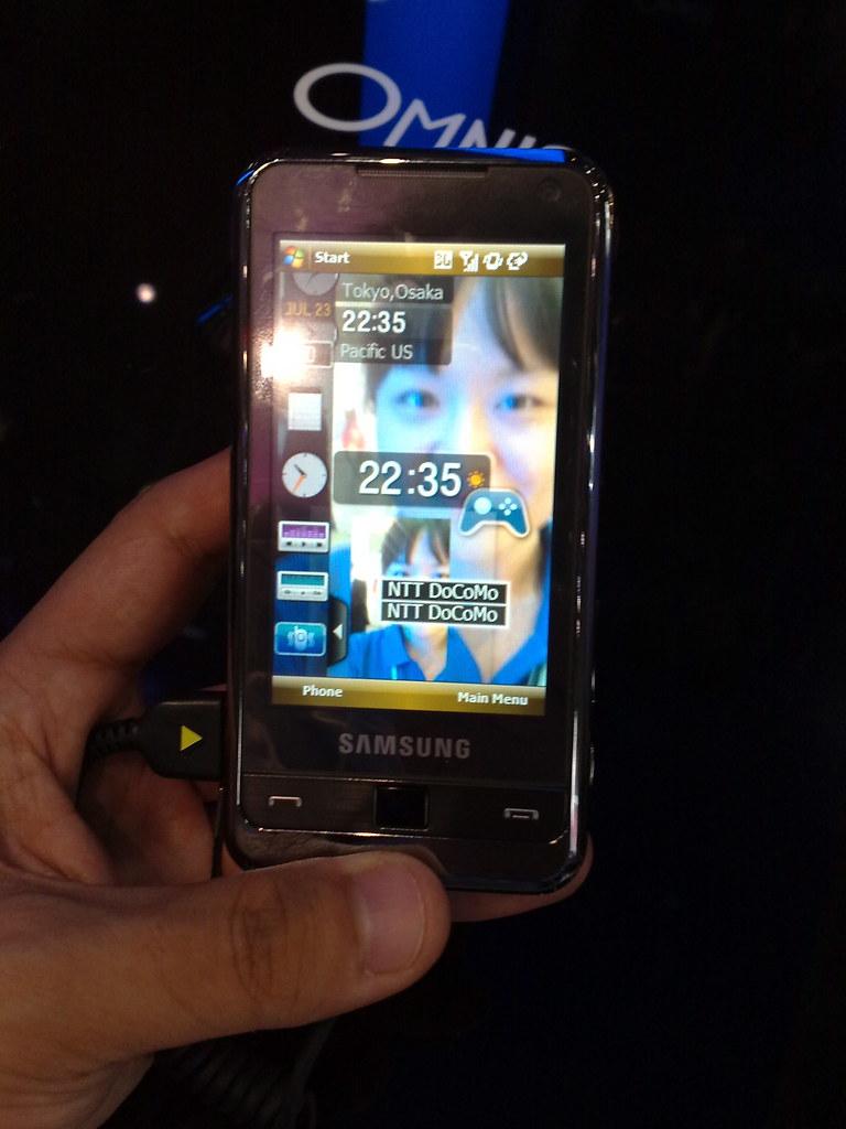 ... Samsung OMNIA | by Hirotaka Nakajima (nunnun)